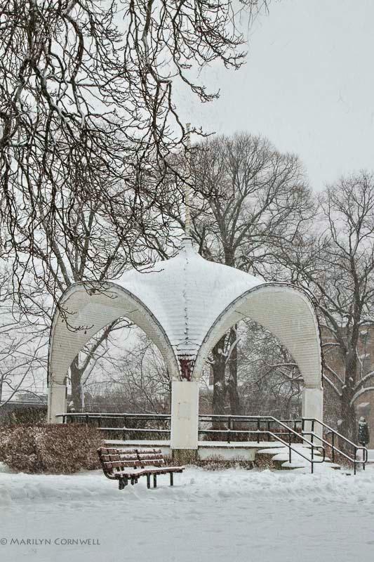 Montebello Pavilion in Winter