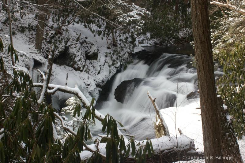 Beltzville Waterfall