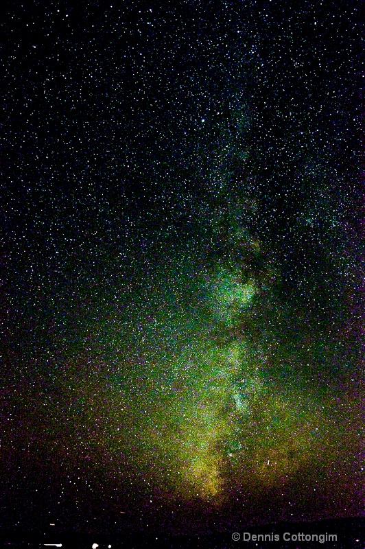 Milky Way at Wilkerson Pass, Colorado