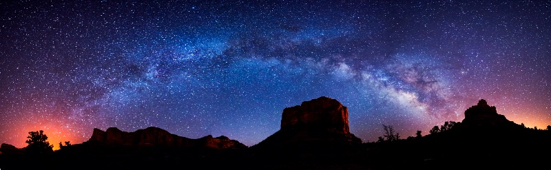 Red Rock Starry Night - Sedona Az