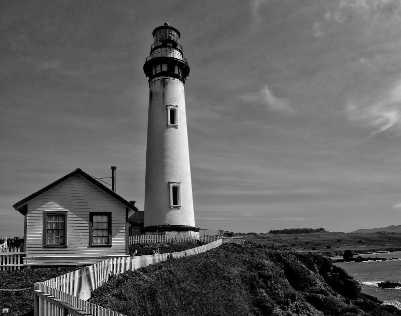 Pigeon Point Light House, 1872.