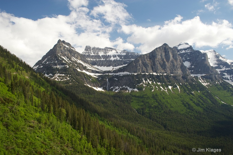Logan Pass - west side