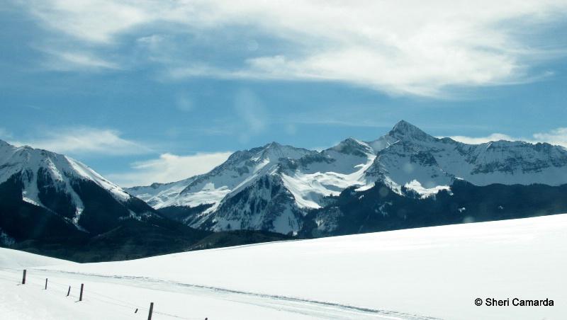 Dallas Divide & Sneffels Mountain Range, Colorado