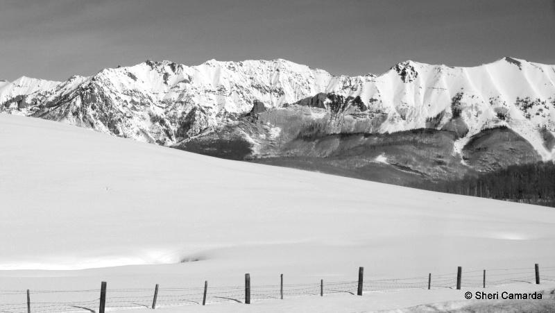 Winter In Colorado Mountains