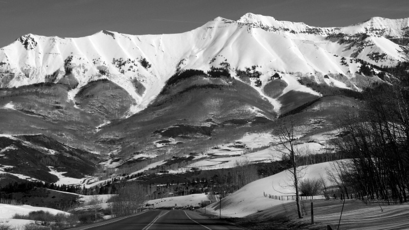 On my way to Telluride, CO