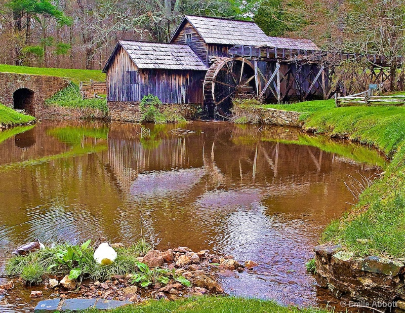 Happy Easter, Mabry Mill