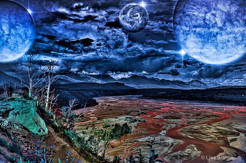 alien landscape first attempt