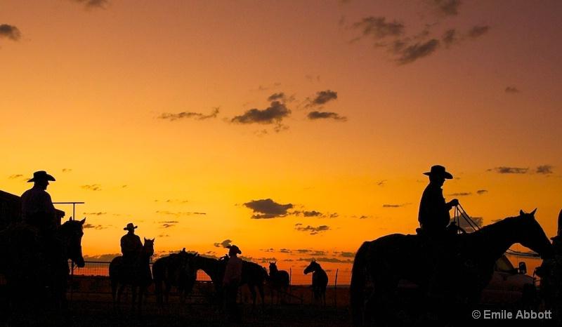 Early morning at 06 Ranch