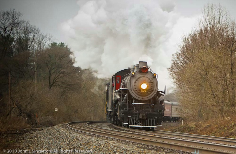 Steaming Around the Bend