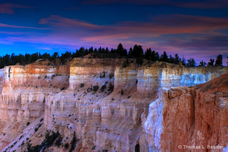 Sunset in Bryce Canyon