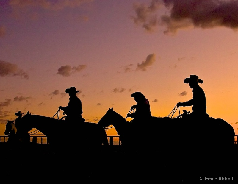 Four Amigos at dawn