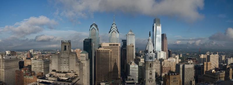 Morning Over Philadelphia