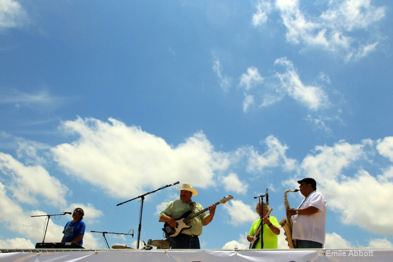 David Revis, Bud Nelson, Billy White, Juan Nunez