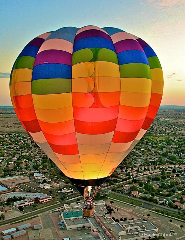 Hot Air Ballooning over Albuquerque