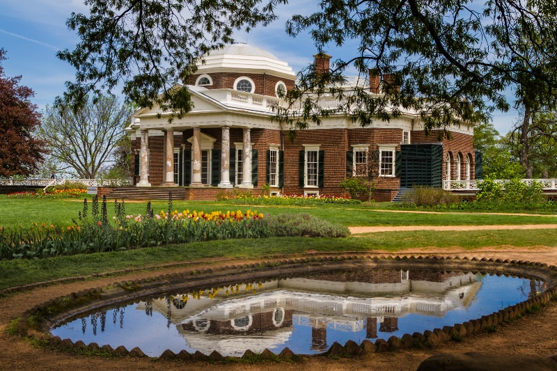 MT 07/13 Monticello Reflection