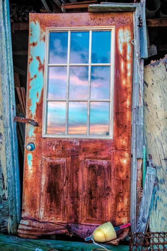 Smith Island Door
