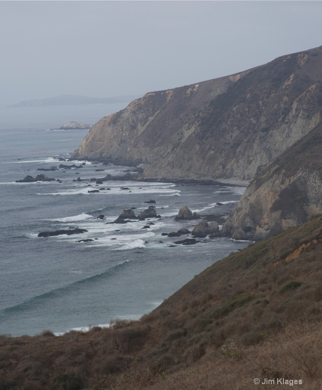 View Along the Tomales Point Trail