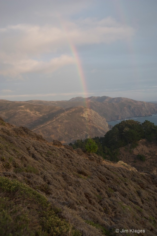 Rainbow Over Muir Beach
