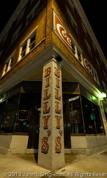 Billy's Ritz Restaurant - Night