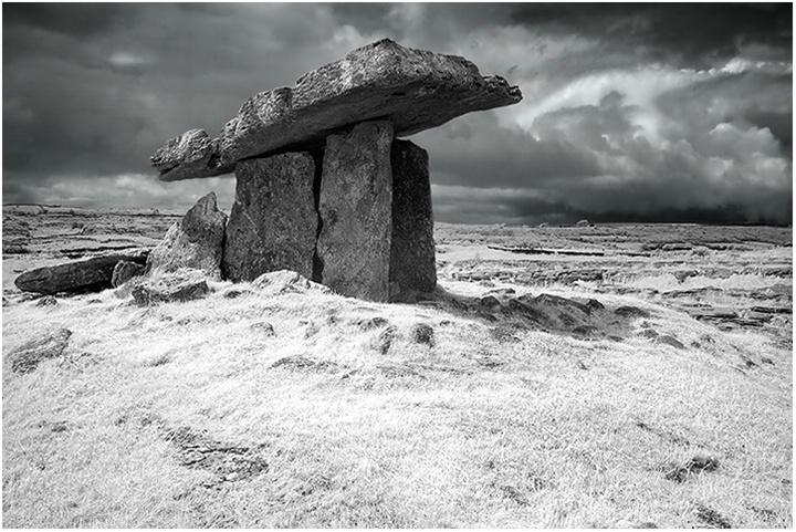 Poulnabrone Dolmen, The Burren Ireland