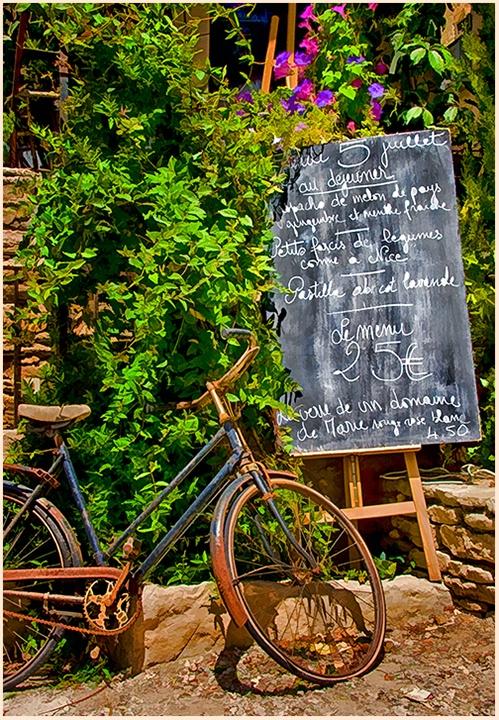 Noontime in Gordes, France
