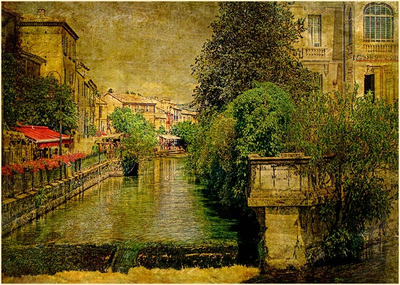 Canal de L'isle-sur-la-Sorgue, Provence