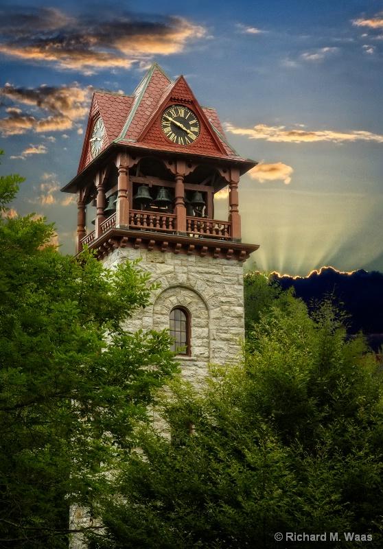 Clock Tower in Stockbridge, MA