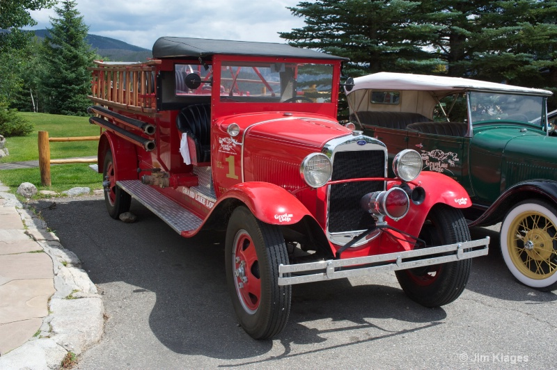 Historic Ford Fire Truck