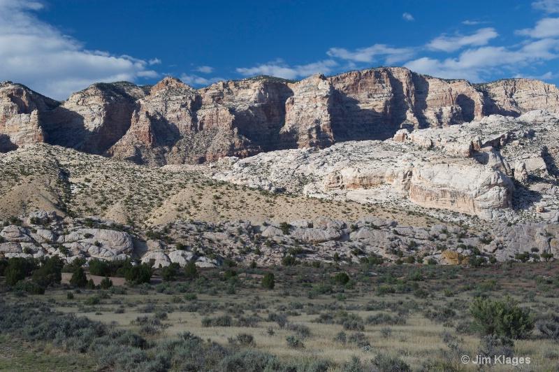 View of Split Mountain