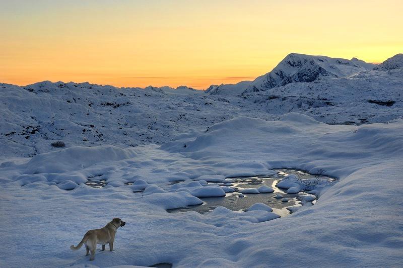 Reina, New Snow & Sunset