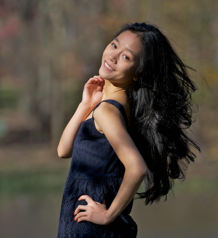 Yumiko and Her Beautiful Hair