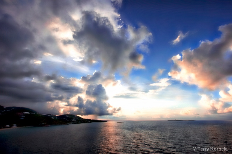 Sunrise St. Thomas, U.S. Virgin Islands