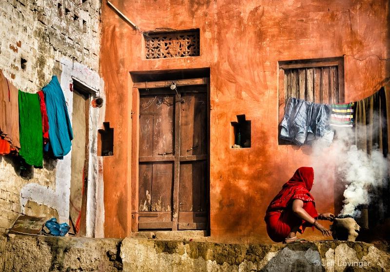 Cooking, Varanassi, India