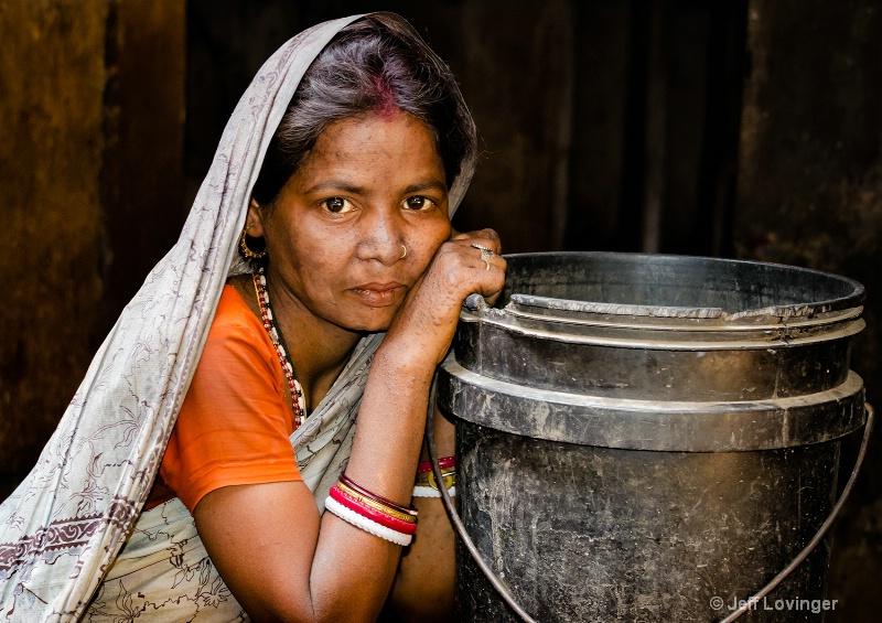 Woman from Calcutta, Calcutta, India