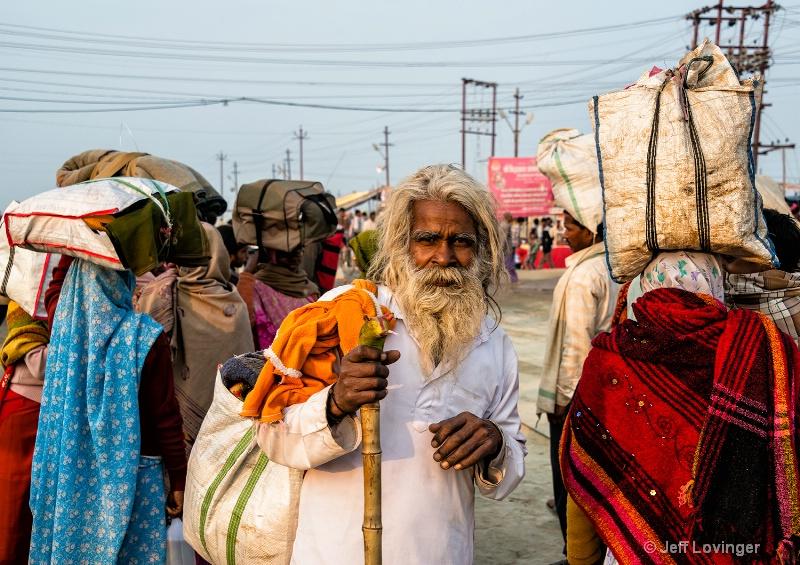 Kumbh Mela Celebration, Pilgrim, Allahabad, India