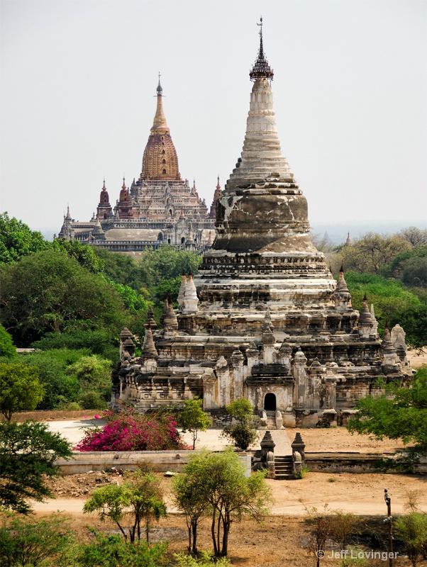 Temple Ruins, Bagan, Myanmar