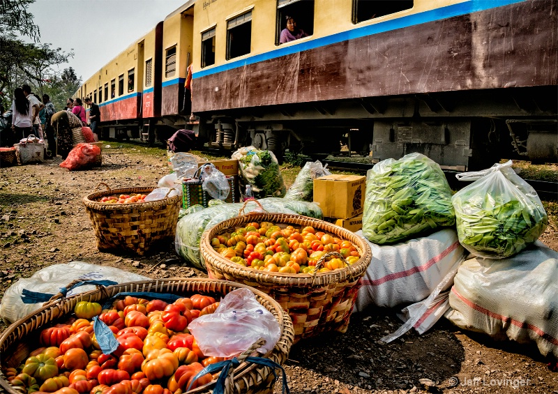 Produce for Market, Hsipaw, Myanmar