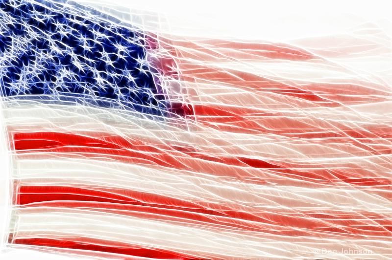 Waving Flag-Fractalius