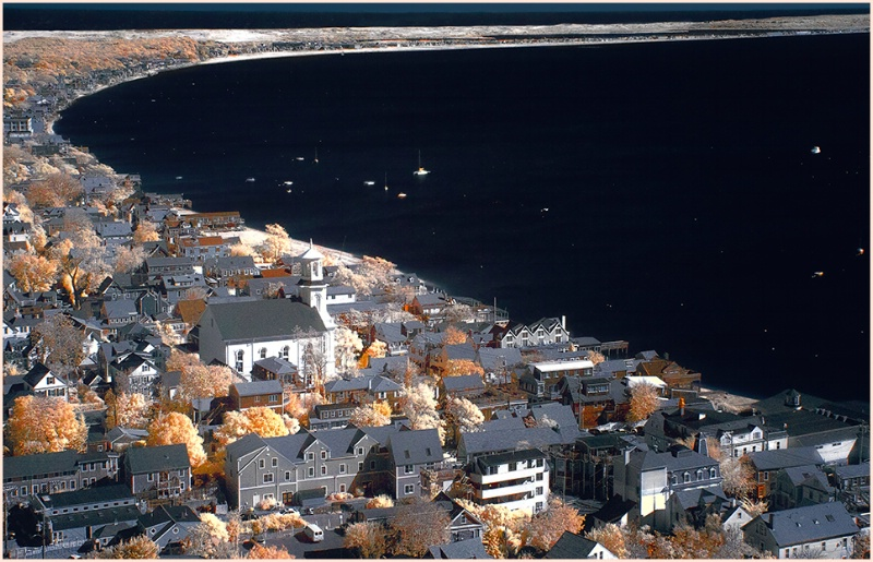 Provincetown Harbor from the Pilgrim Monument