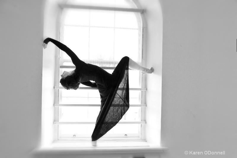 Dancer In The Window
