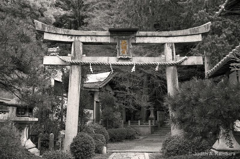 Kitashirakawa torii