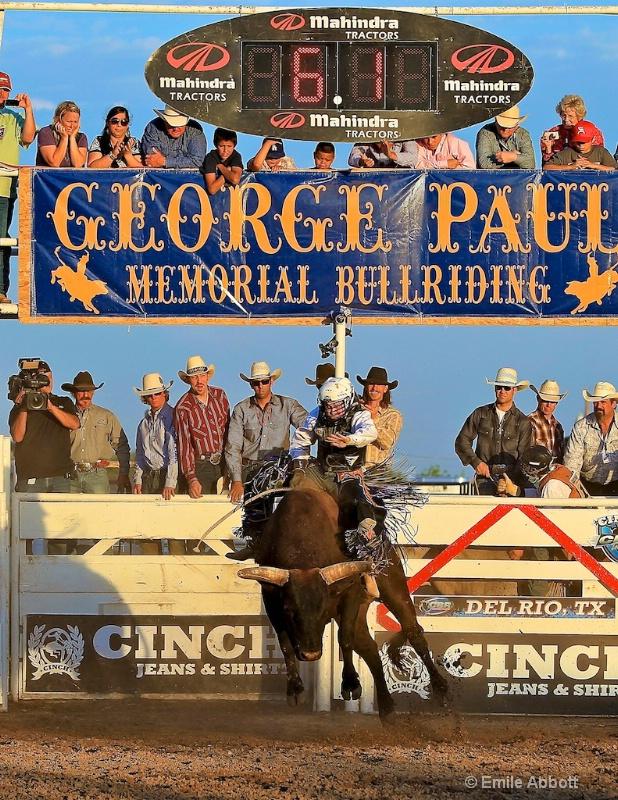 George Paul Memorial Bull Riding Time