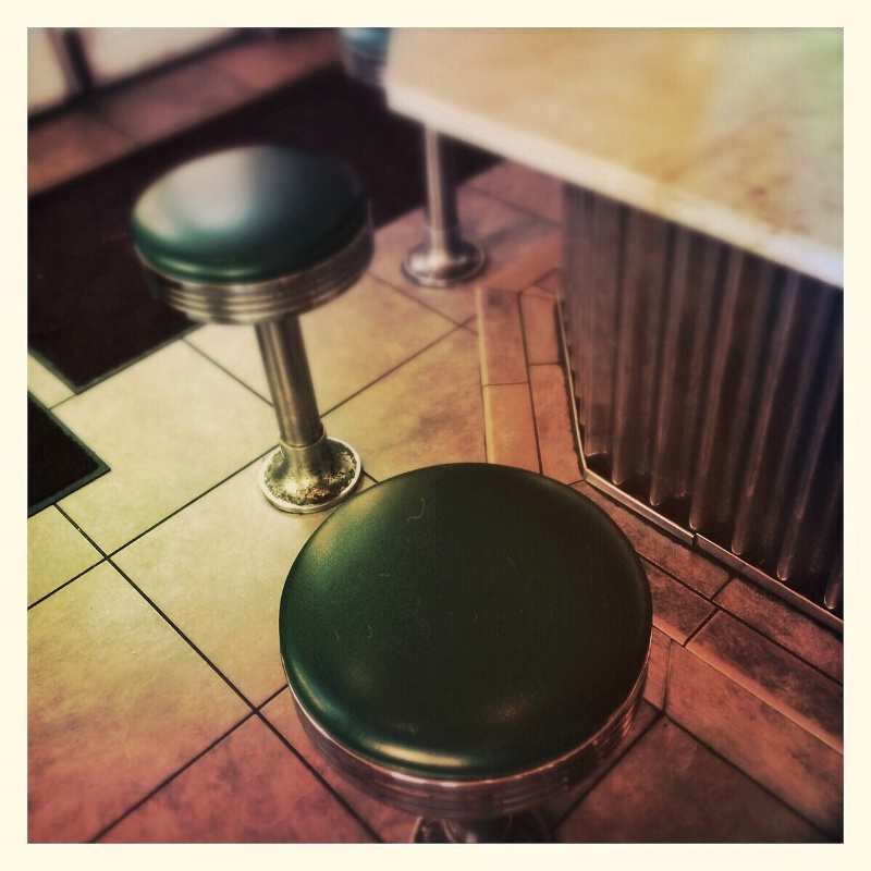 Diner table for two in New Orleans