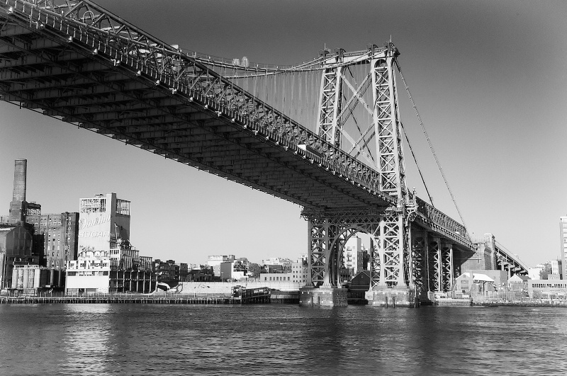 Manhattan Bridge From the River