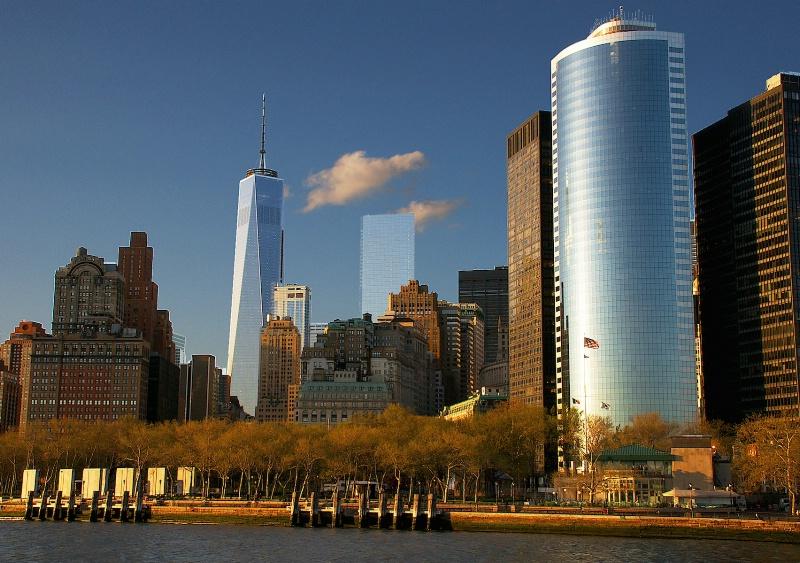 Manhattan Skyline and Freedom Tower