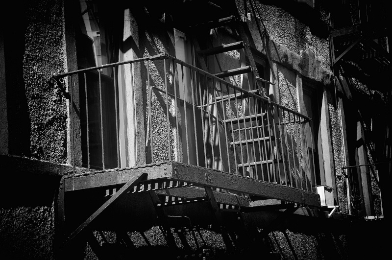 Staircase in Soho