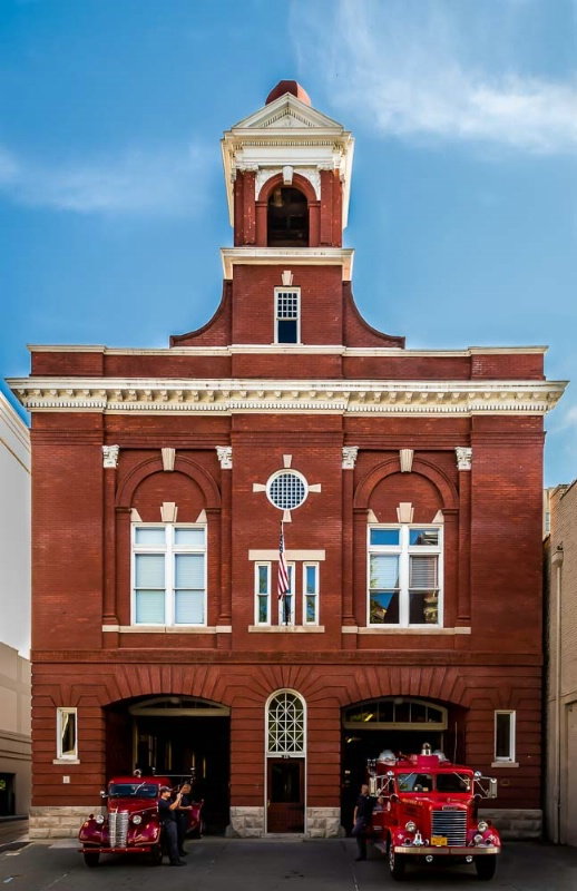 Historical Fire Station #1 - Front View