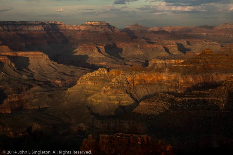 Grand Canyon - Hopi Point - Sunset