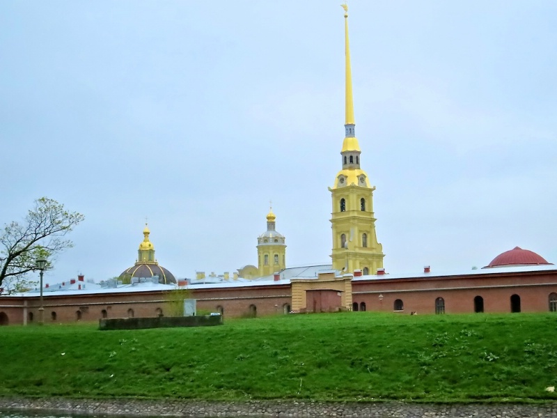 Peter and Paul Fortress and Cathedral Spire
