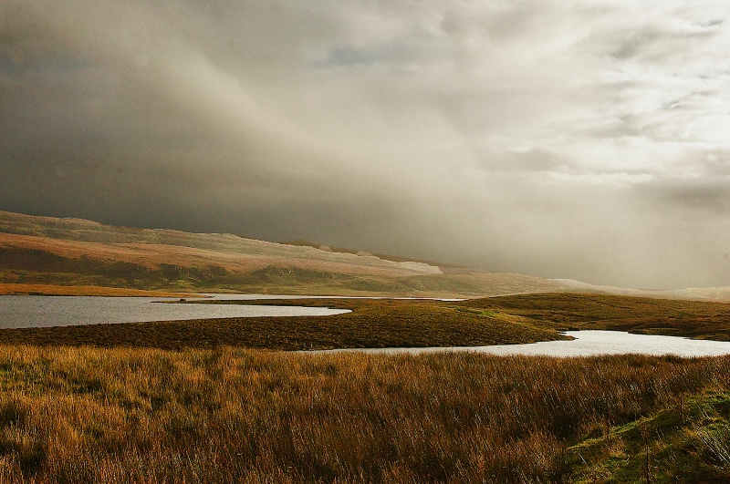 Flatlands in Western Skye